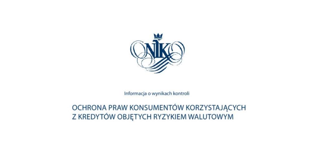 NIK - kredyty we frankach