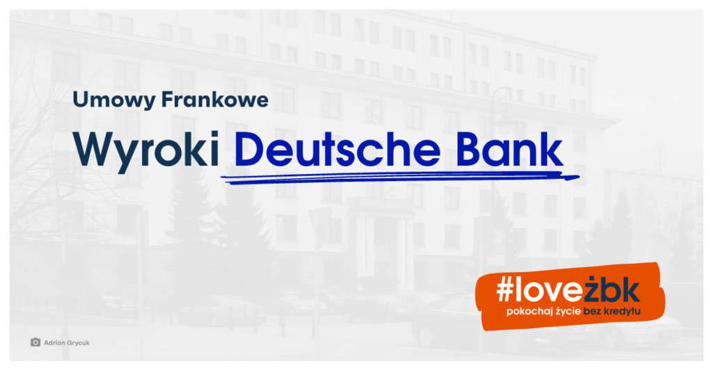 frankowicze Deutsche Bank