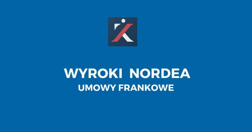 Wyroki Nordea