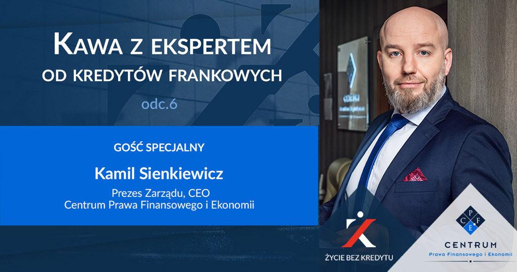 Kawa z Ekspertem - Kamil Sienkiewicz