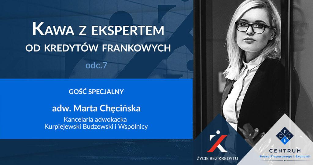 Kawa z Ekspertem - Marta Chęcińska