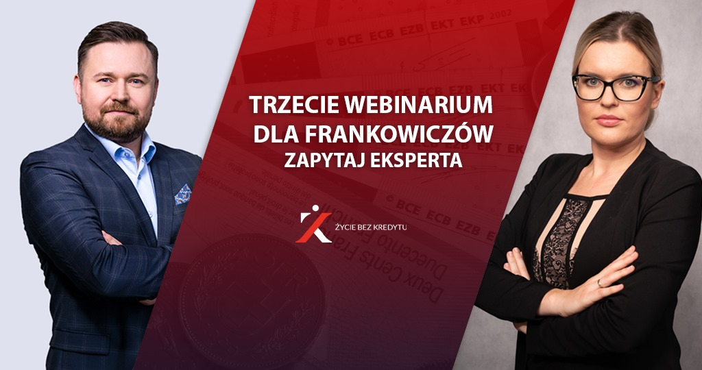 Frankowicze - zaproszenie na webinarium