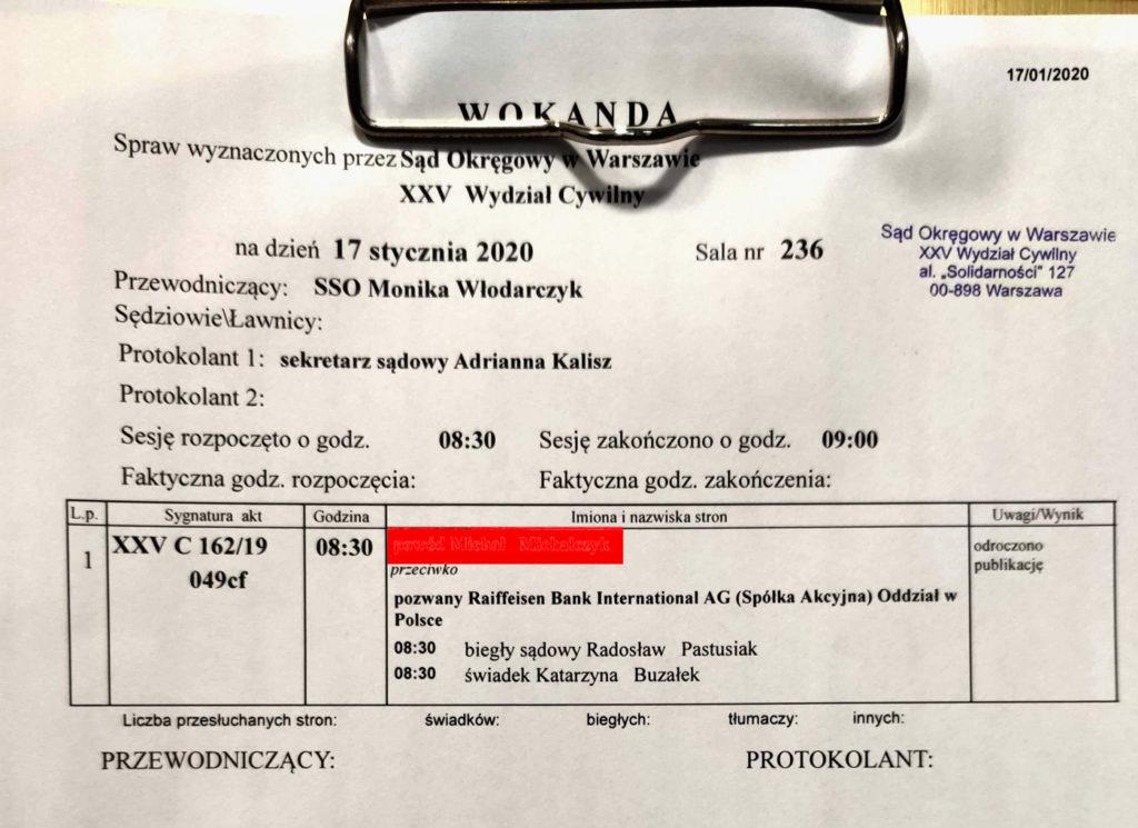 frankowicz - wokanda