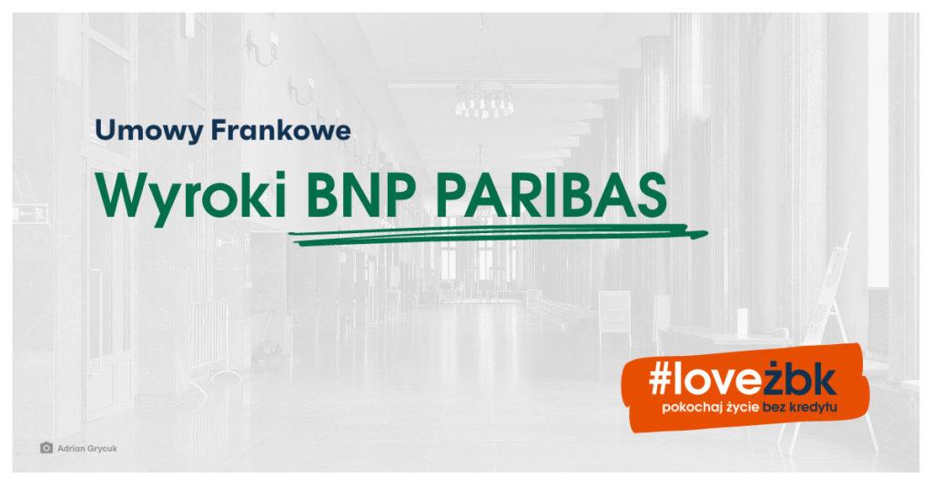 frankowicze BNP Paribas